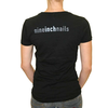 Fractured NIN logo women's t-shirt