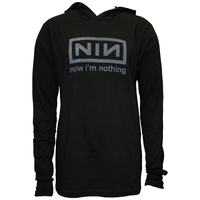 Now I'm Nothing pullover hoodie