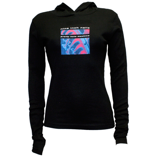 Pretty Hate Machine women's pullover hoodie